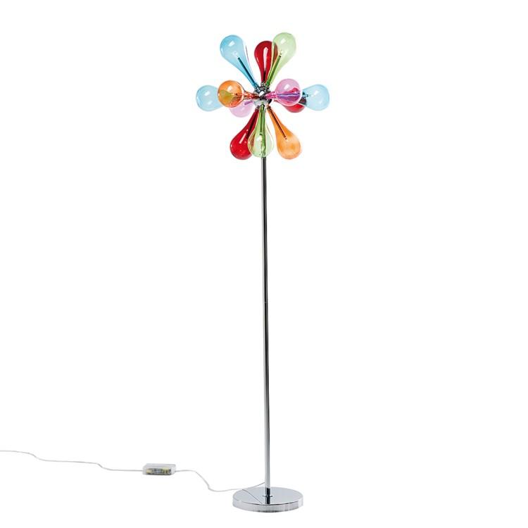 stehlampe drops rainbow 9er bunt home24. Black Bedroom Furniture Sets. Home Design Ideas