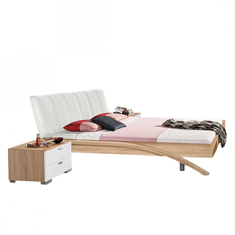 bett swing eiche dekor home24. Black Bedroom Furniture Sets. Home Design Ideas