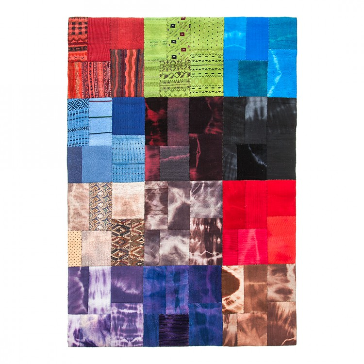 teppich patchwork strickoptik home24. Black Bedroom Furniture Sets. Home Design Ideas