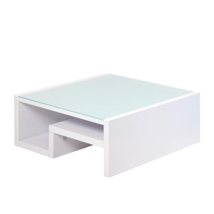 couchtisch tim mit glasplatte home24. Black Bedroom Furniture Sets. Home Design Ideas