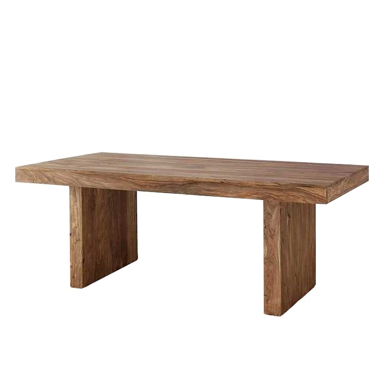 esstisch yoga sheesham holz natur home24. Black Bedroom Furniture Sets. Home Design Ideas
