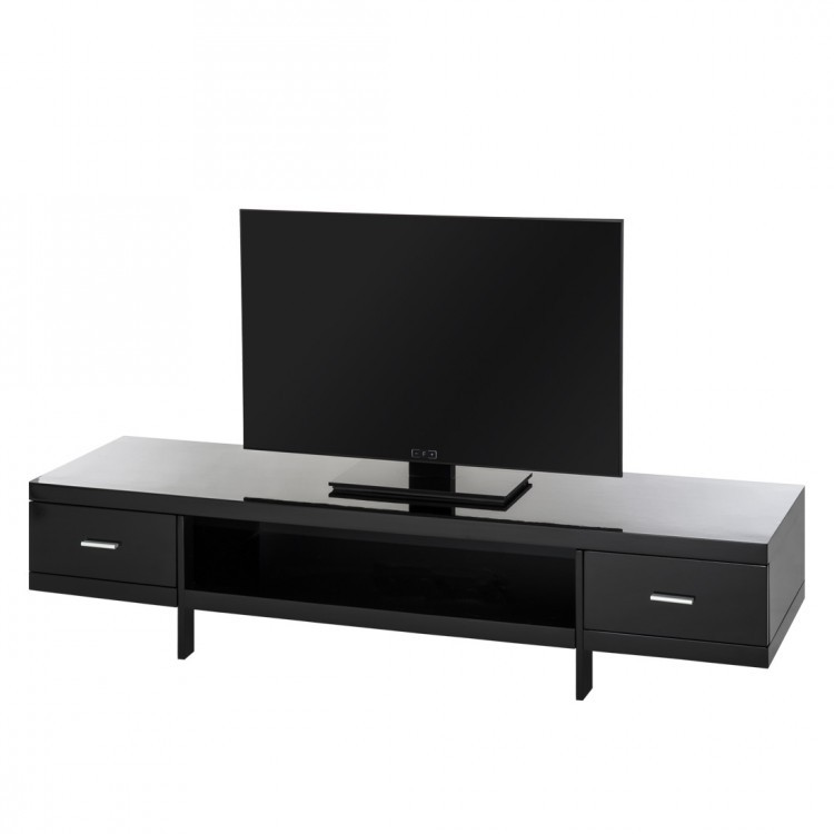 tv lowboard john hochglanz schwarz home24. Black Bedroom Furniture Sets. Home Design Ideas