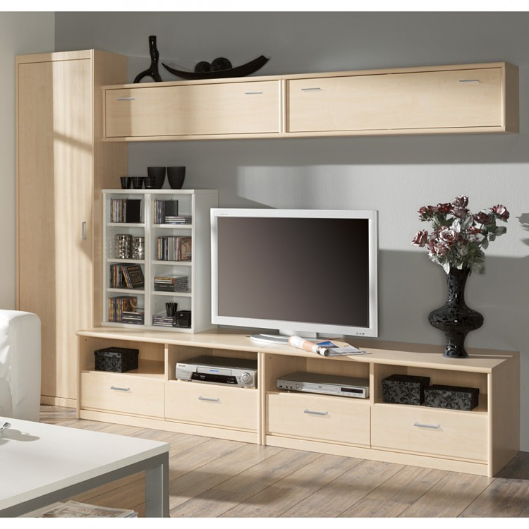 tv unterschrank soft plus ahorn dekor home24. Black Bedroom Furniture Sets. Home Design Ideas