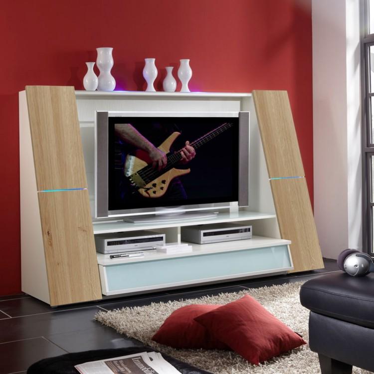 tv wand moon mdf home24. Black Bedroom Furniture Sets. Home Design Ideas