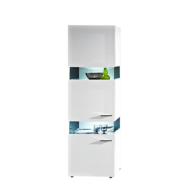 vitrine whitestar i hochglanz wei home24. Black Bedroom Furniture Sets. Home Design Ideas