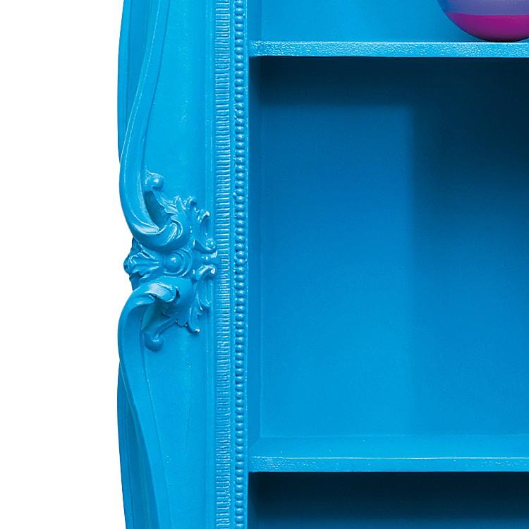 wandregal collector barock blau home24. Black Bedroom Furniture Sets. Home Design Ideas