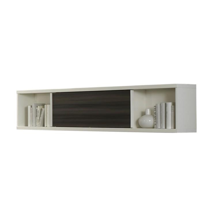 wandregal leon wei noce graphit dekor home24. Black Bedroom Furniture Sets. Home Design Ideas
