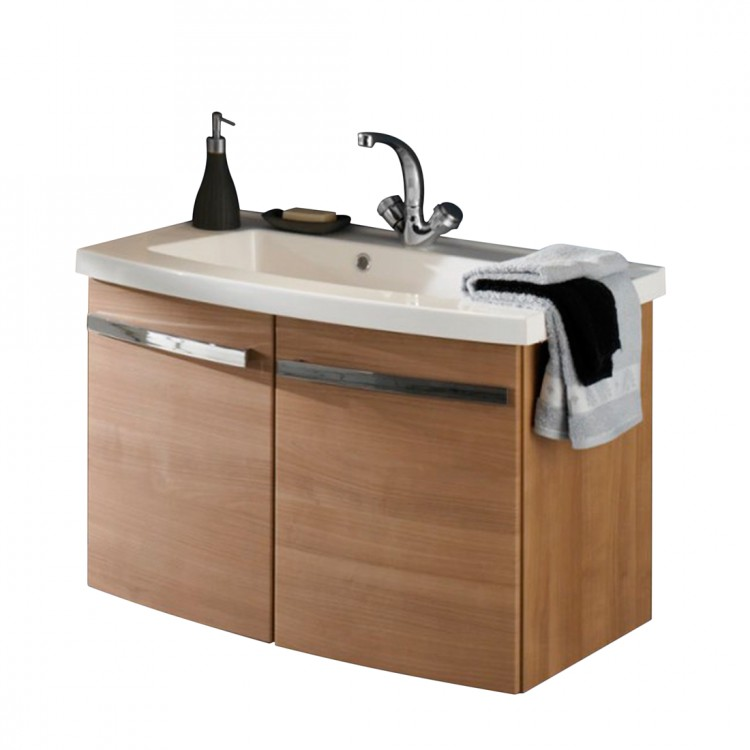 Meuble lavabo bina noce for Meuble lavabo 110