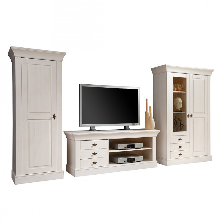 landhaus classic tv schrank f r ein l ndliches zuhause. Black Bedroom Furniture Sets. Home Design Ideas