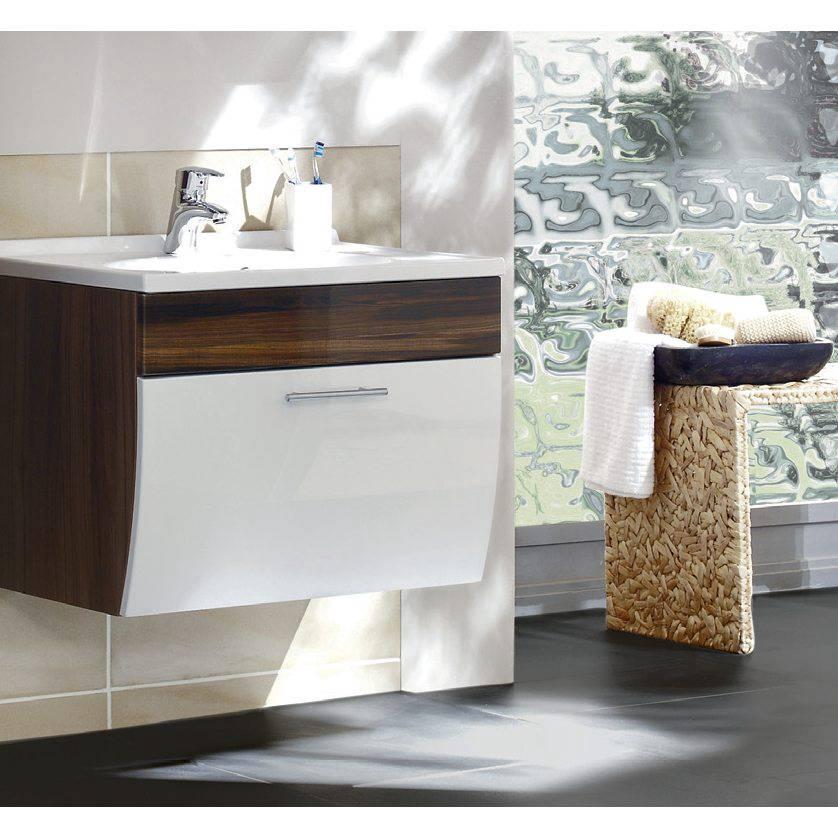 waschplatz tara walnuss nachbildung wei home24. Black Bedroom Furniture Sets. Home Design Ideas