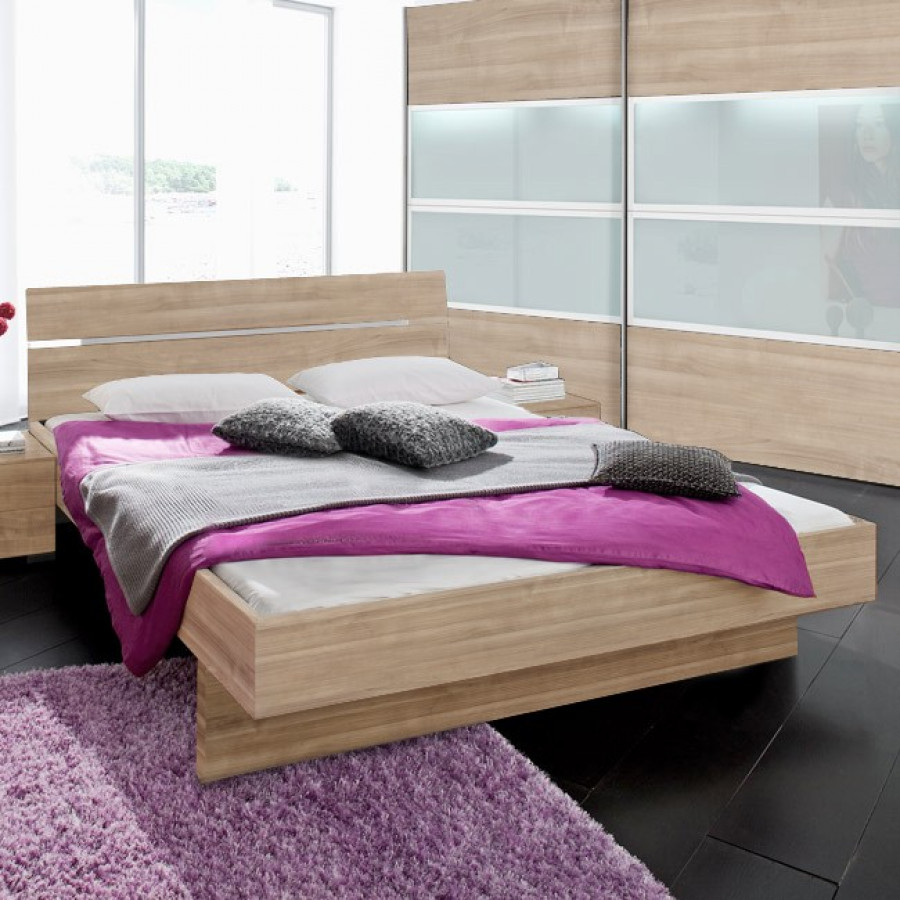 bett choice kopfteil 2 schwebesockel home24. Black Bedroom Furniture Sets. Home Design Ideas