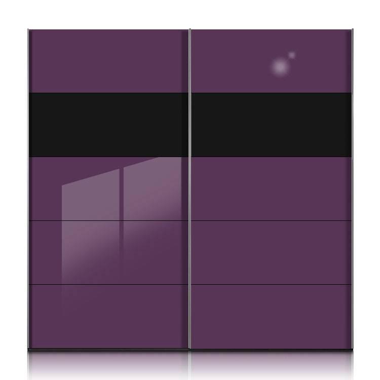 kleiderschrank schwarz lila heimatentwurf inspirationen. Black Bedroom Furniture Sets. Home Design Ideas