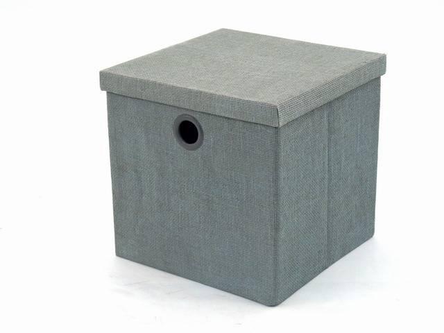 bo te de rangement new york carr groundwood gris grand mod le. Black Bedroom Furniture Sets. Home Design Ideas