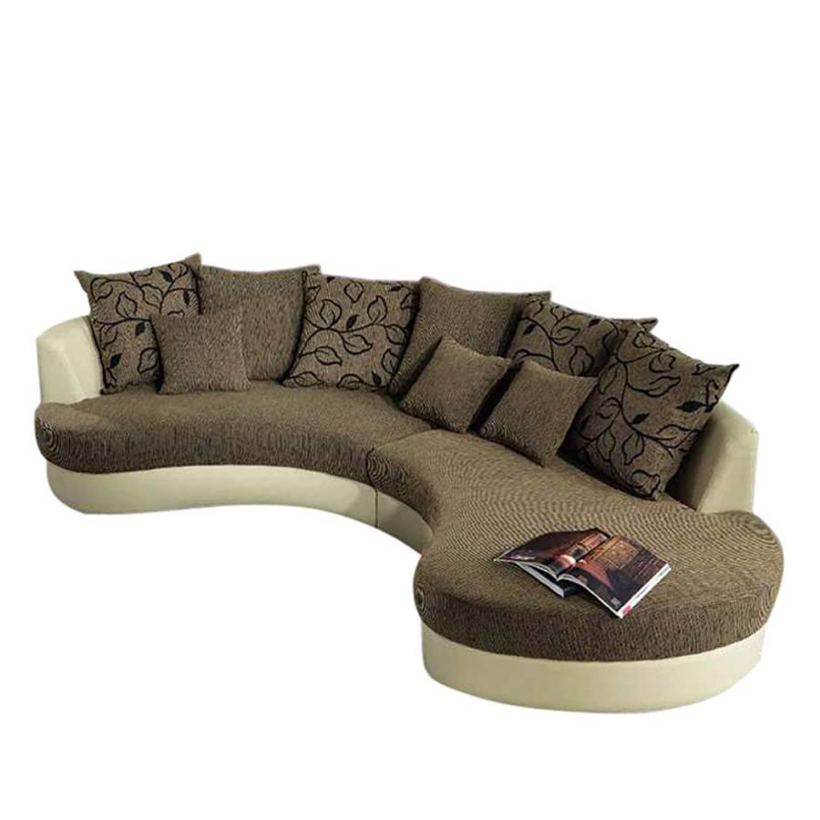 Couch Mit Ottomane : Bari sofa mit kuschelecke und ottomane ...