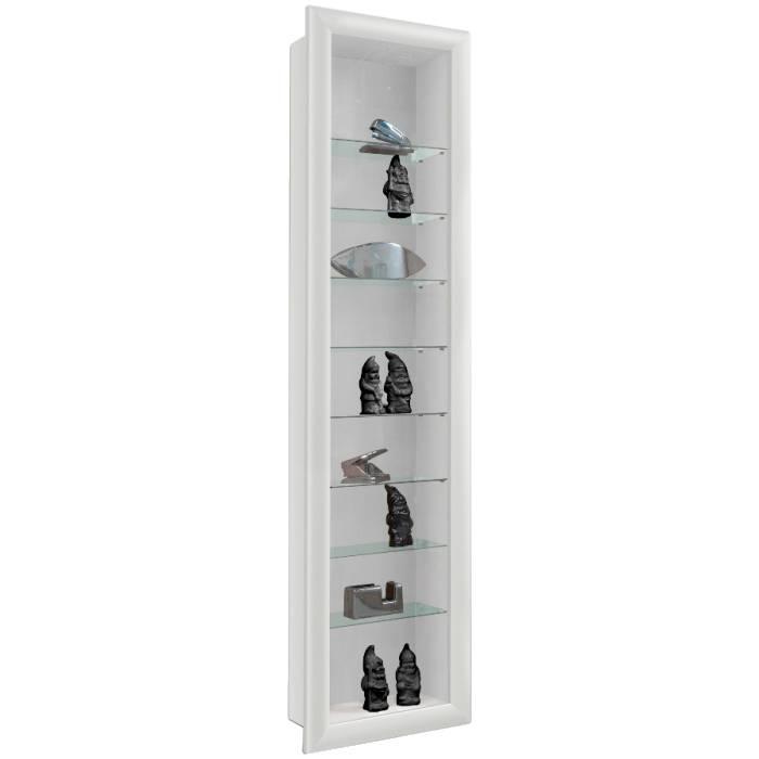 h ngevitrine emala wei home24. Black Bedroom Furniture Sets. Home Design Ideas