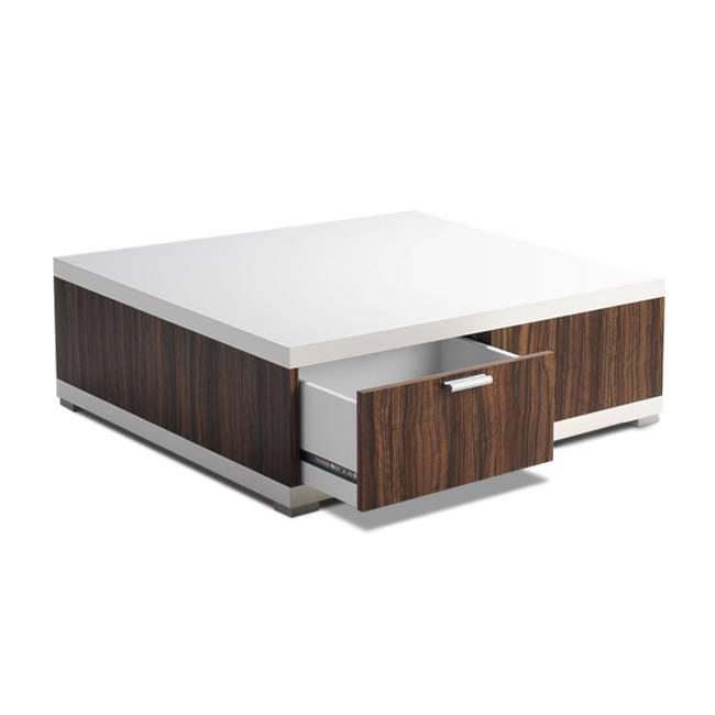 couchtisch pedro mit schubladen home24. Black Bedroom Furniture Sets. Home Design Ideas