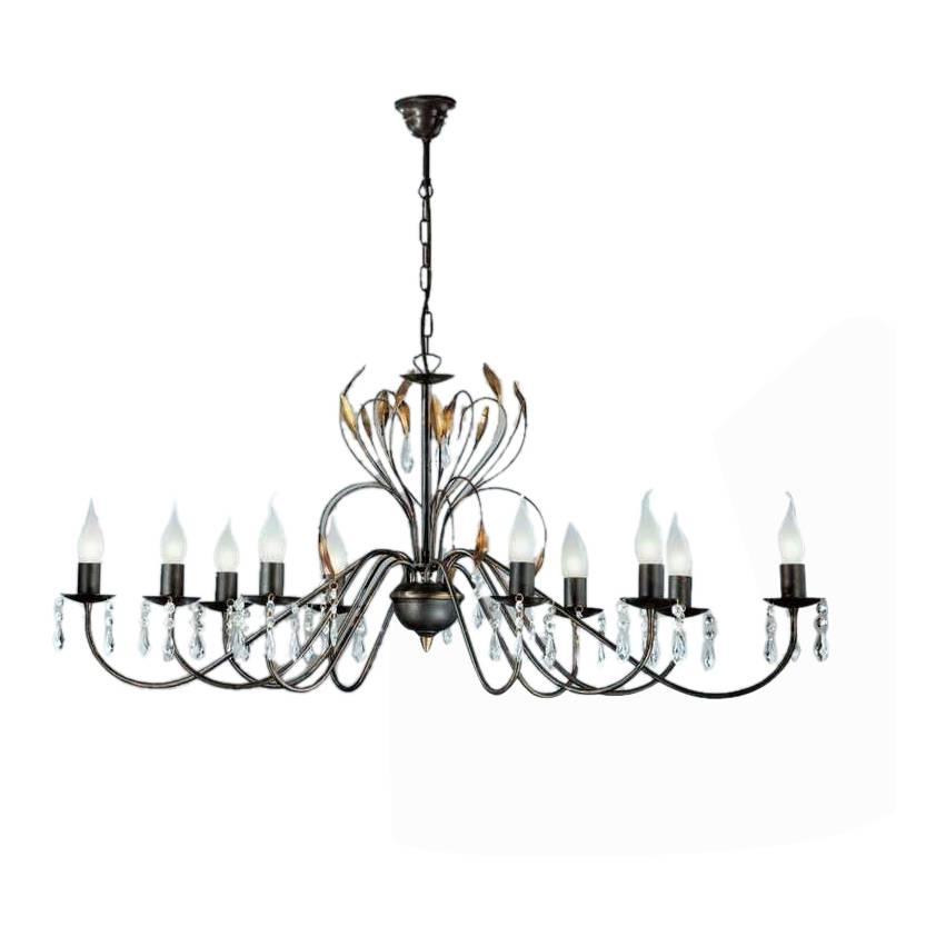 kronleuchter campana metall home24. Black Bedroom Furniture Sets. Home Design Ideas