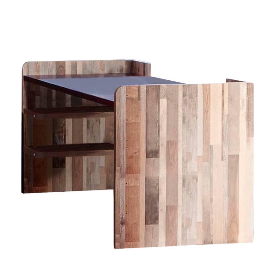 schreibtisch capt 39 n sharky natur blau. Black Bedroom Furniture Sets. Home Design Ideas
