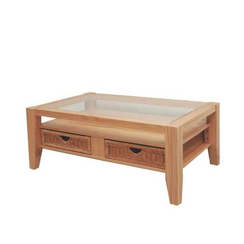 table basse casa huil e vernie. Black Bedroom Furniture Sets. Home Design Ideas
