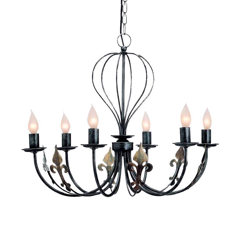 kronleuchter castello metall home24. Black Bedroom Furniture Sets. Home Design Ideas