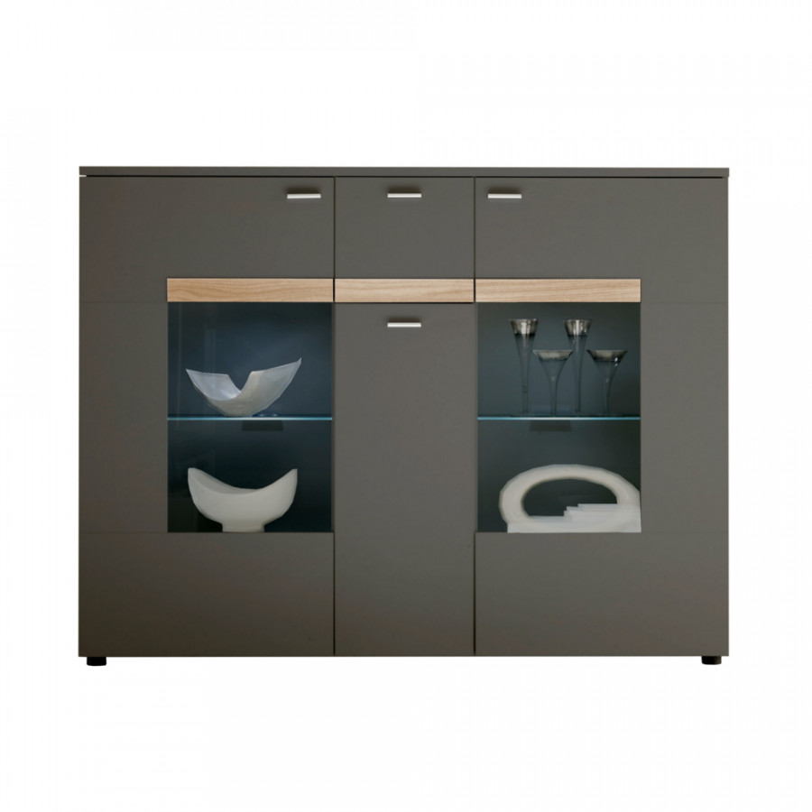 california highboard f r ein modernes heim home24. Black Bedroom Furniture Sets. Home Design Ideas