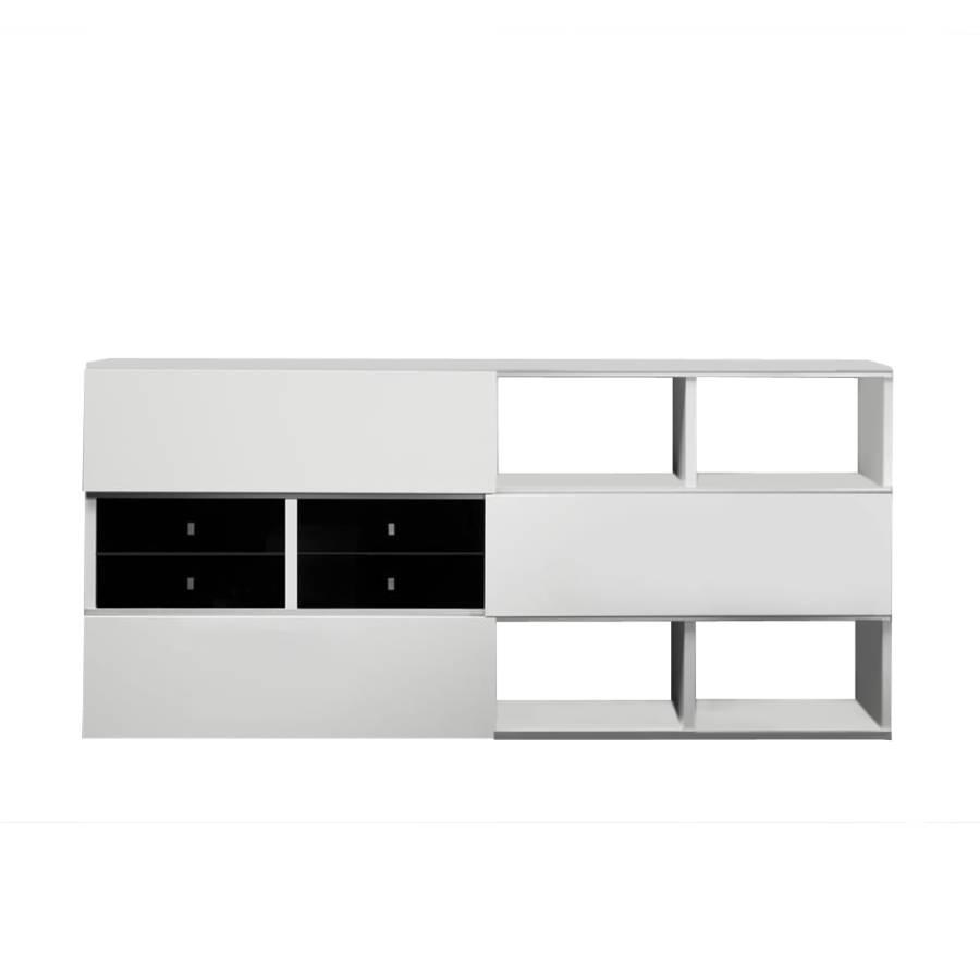 schlafzimmer sideboard schwarz weiss hochglanz bersicht. Black Bedroom Furniture Sets. Home Design Ideas