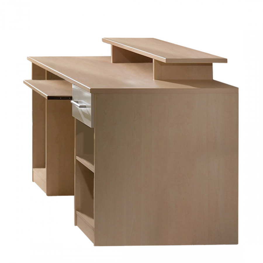 computertisch florence aufsatz schublade home24. Black Bedroom Furniture Sets. Home Design Ideas