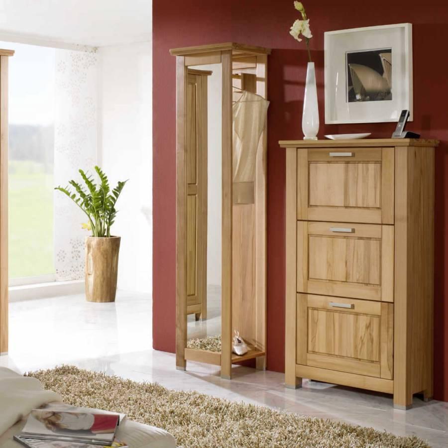 Armoire d 39 entr e gradel pour un foyer champ tre rustique - Home24 garderobe ...