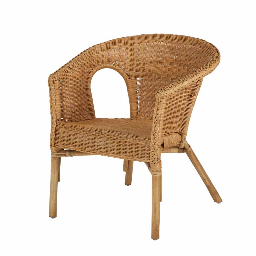 Sessel grasse rattan honig home24 for Home 24 sessel