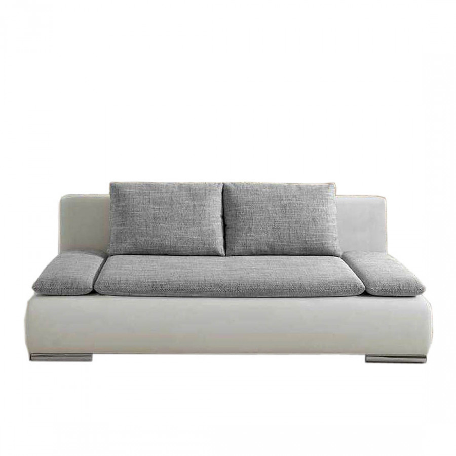 schlafsofa great exuma mit bettkasten kunstleder stoff. Black Bedroom Furniture Sets. Home Design Ideas
