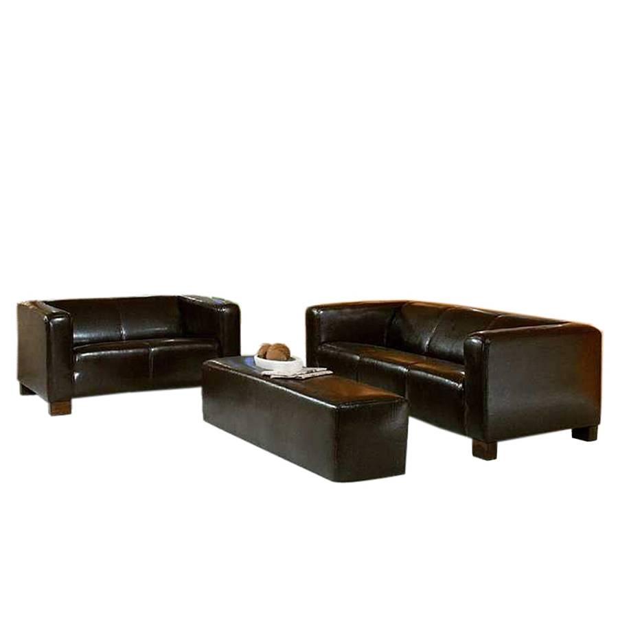 zithoek hamlet 3 delige set kunstleer. Black Bedroom Furniture Sets. Home Design Ideas