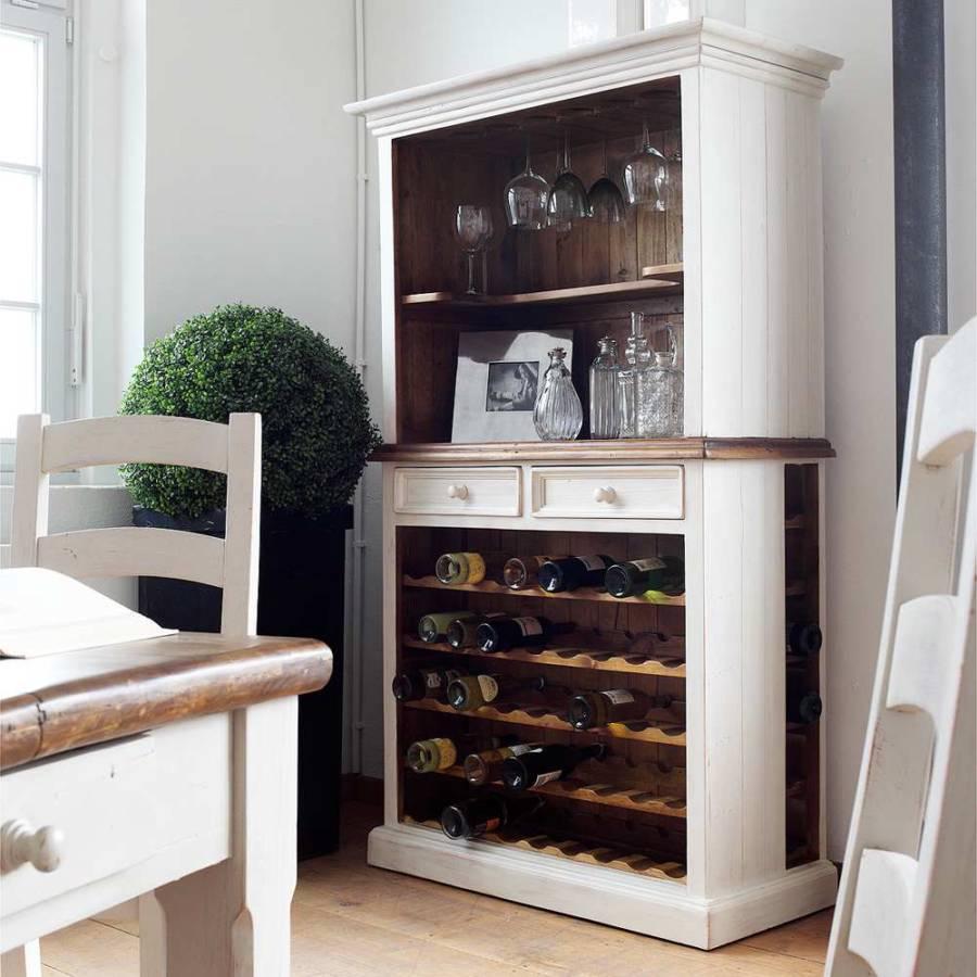 weinbuffet boddo kiefer massiv home24. Black Bedroom Furniture Sets. Home Design Ideas
