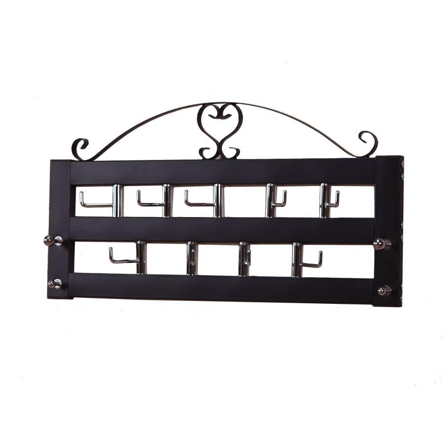 wandgarderobe care schwarz home24. Black Bedroom Furniture Sets. Home Design Ideas