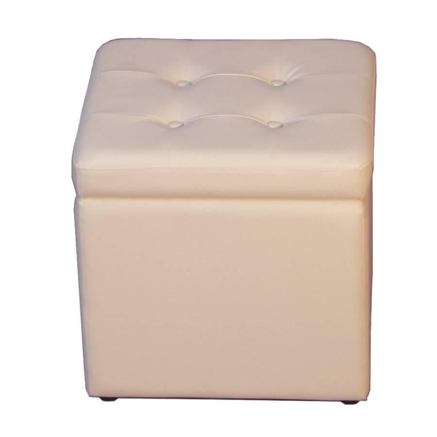 sitzw rfel classic kunstleder wei. Black Bedroom Furniture Sets. Home Design Ideas