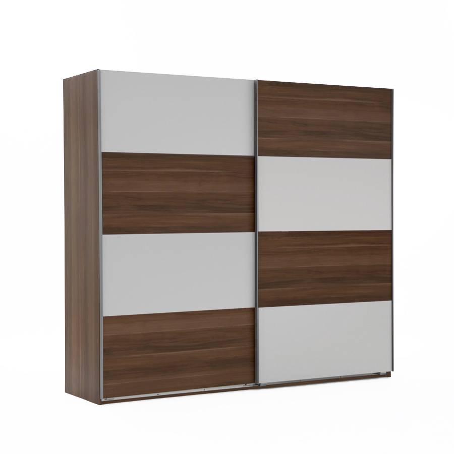 schwebet renschrank kingston a franz sisch nussbaum dekor alpinwei. Black Bedroom Furniture Sets. Home Design Ideas