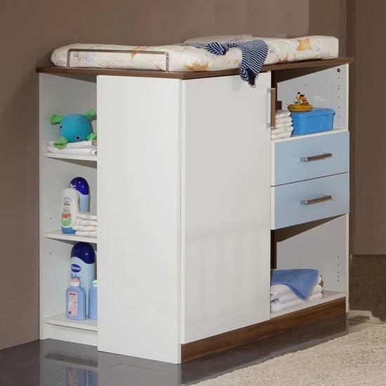 wickelkommode nice nussbaum mit maserung home24. Black Bedroom Furniture Sets. Home Design Ideas