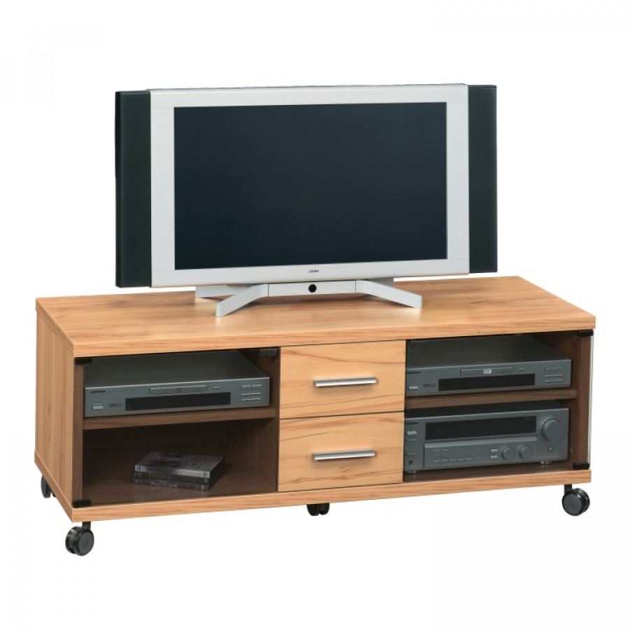 tv wagen rollen free tvtisch tvwagen phonowagen auf. Black Bedroom Furniture Sets. Home Design Ideas