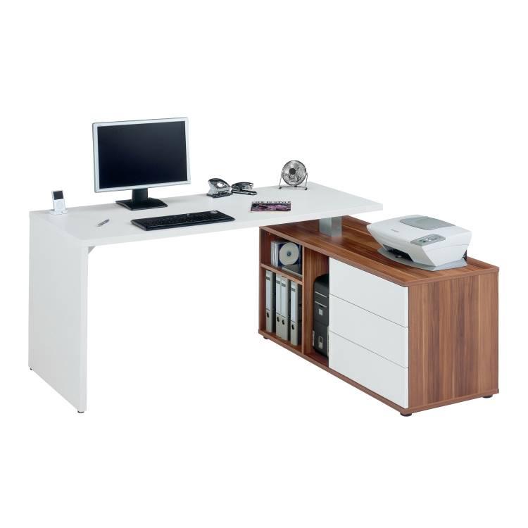 Computertisch stacey sideboard 360 drehbar online for Schreibtisch drehbar