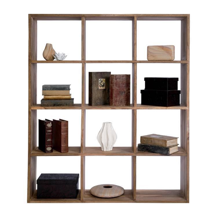 Kare design boekenkast voor een moderne woning - Moderne boekenkast ...