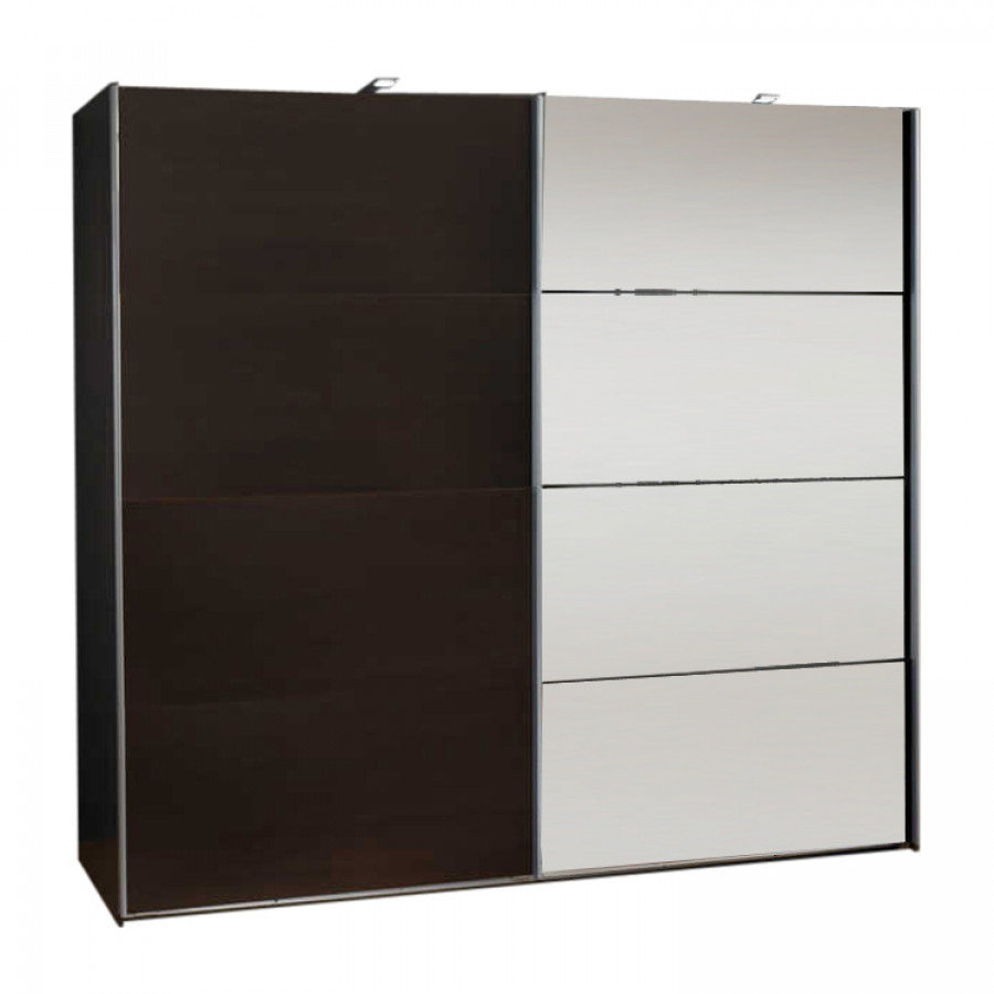 armoire portes coulissantes kingston ad wenge milano. Black Bedroom Furniture Sets. Home Design Ideas