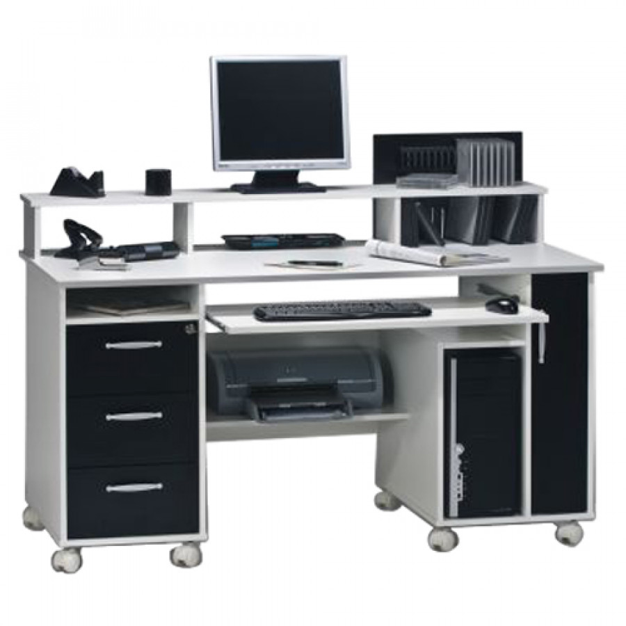 Meuble informatique office collection pour un int rieur for Meuble d ordinateur d angle