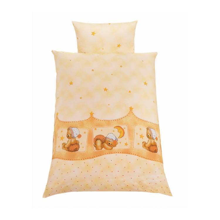 parure de lit b b petit ours 2 l ments housses couette et d 39 oreiller diff rentes tailles. Black Bedroom Furniture Sets. Home Design Ideas