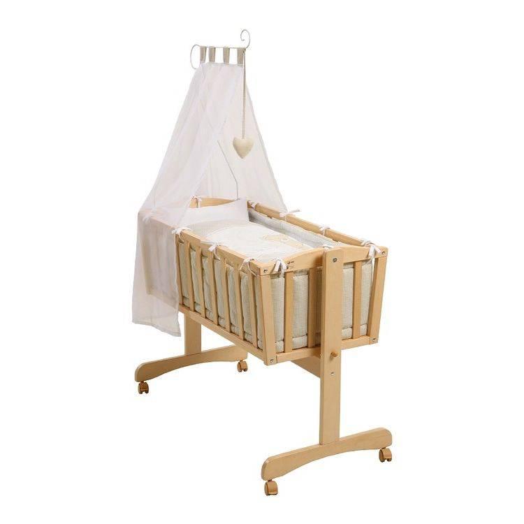 wiege liebhab r 7 teilig beige home24. Black Bedroom Furniture Sets. Home Design Ideas