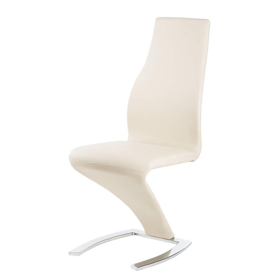 schwingstuhl loro 2er set kunstleder creme home24. Black Bedroom Furniture Sets. Home Design Ideas