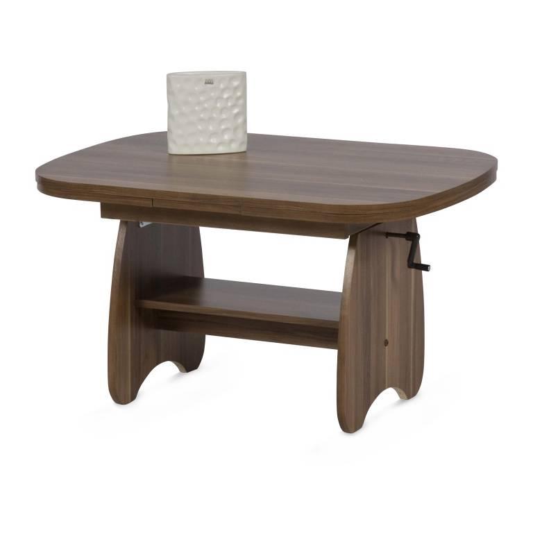 couchtisch mackay ausziehbar h henverstellbar home24. Black Bedroom Furniture Sets. Home Design Ideas