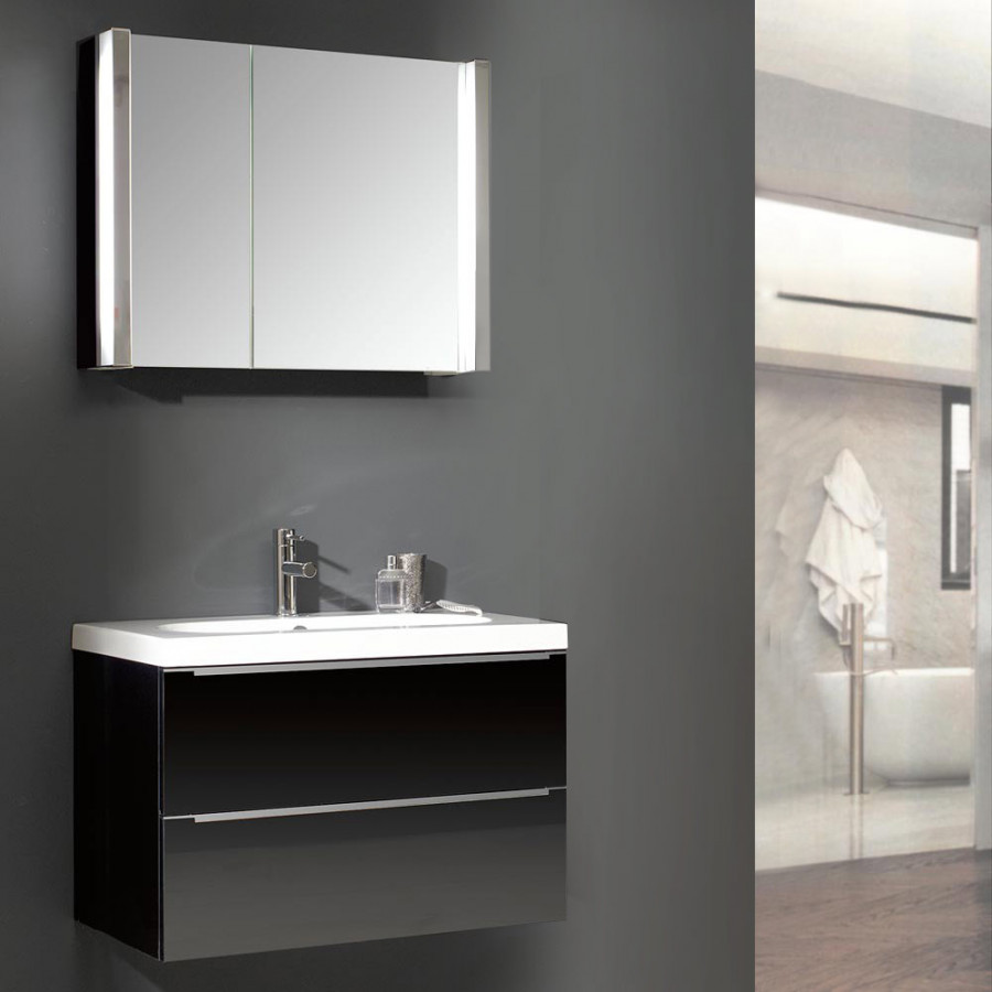 Ensemble meuble lavabo magic 27 avec vasque c ramique ovale - Ensemble lavabo meuble ...
