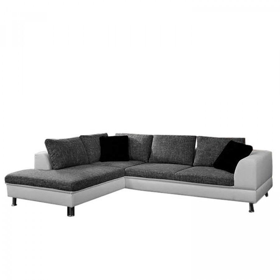 sofa manhattan 3 sitzer mit ottomane home24. Black Bedroom Furniture Sets. Home Design Ideas