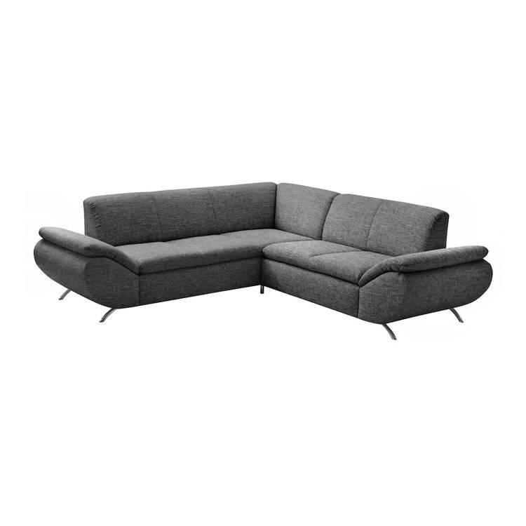 ecksofa london strukturstoff home24. Black Bedroom Furniture Sets. Home Design Ideas