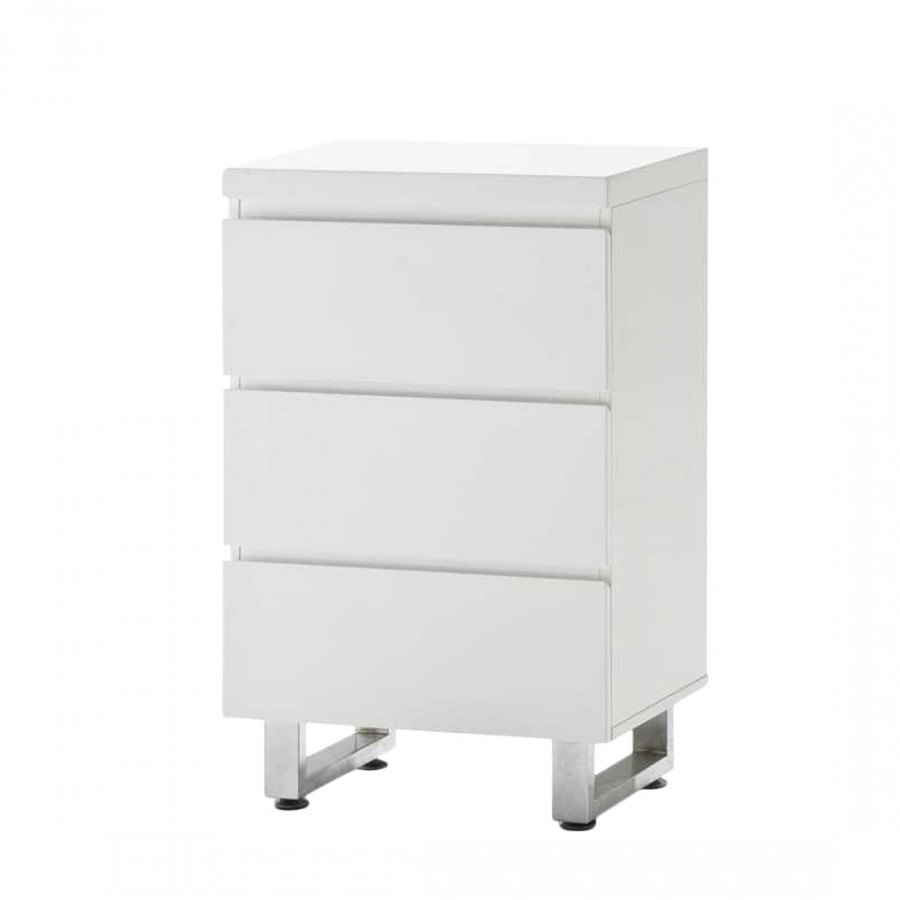 commode paddington 2 blanc brillant. Black Bedroom Furniture Sets. Home Design Ideas
