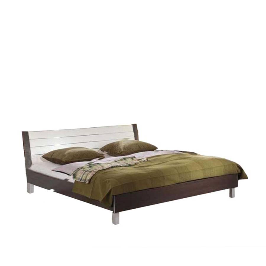bett barinas milano wenge dekor home24. Black Bedroom Furniture Sets. Home Design Ideas
